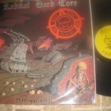 Dischi in vinile: RADIKAL HARD CORE - HAY QUE VOLAR (..HEBEFRENIA RECORDS – HR-101 1993 )OG ESPAÑA. Lote 288324558