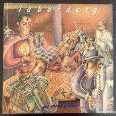 Discos de vinilo: LABORDETA - QUE VAMOS A HACER... (LP, ALBUM) (1987/ES). Lote 288325198