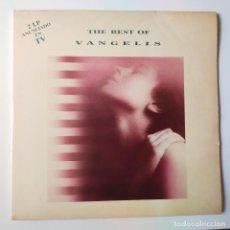 Discos de vinilo: VANGELIS- THE BEST OF- SPAIN 2 LP 1992.. Lote 288329018