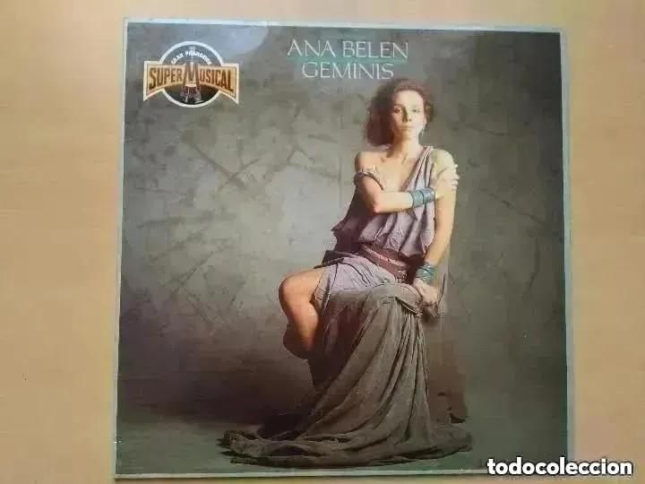 ANA BELEN - GEMINIS (LP) PROMO !!!!1985 CBS PRODUCTOS ESPECIALES. (Música - Discos - LP Vinilo - Solistas Españoles de los 70 a la actualidad)