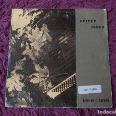 """Discos de vinilo: FRISCO JENNY – BESOS EN EL HURACÁN, VINYL, 7"""" SINGLE 1990 SPAIN 1-GA-0368/2. Lote 288332738"""