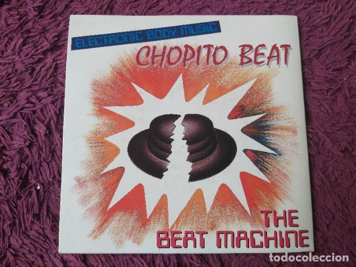 """THE BEAT MACHINE – CHOPITO BEAT, VINYL, 7"""" SINGLE 1989 SPAIN 03.3490 PROMO (Música - Discos - Singles Vinilo - Electrónica, Avantgarde y Experimental)"""