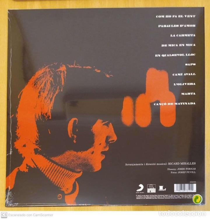 Discos de vinilo: JOAN MANUEL SERRAT (COM HO FA EL VENT) LP 2018 * Precintado - Foto 2 - 288334833