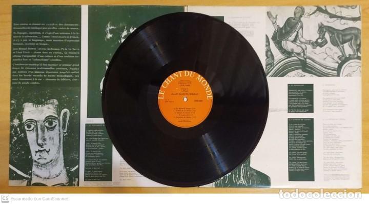 Discos de vinilo: JOAN MANUEL SERRAT (CHANSONS TRADITIONNELLES) LP FRANCIA - Foto 3 - 288335253