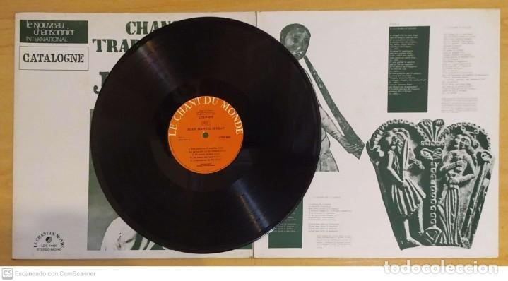 Discos de vinilo: JOAN MANUEL SERRAT (CHANSONS TRADITIONNELLES) LP FRANCIA - Foto 4 - 288335253
