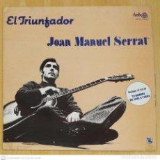 Discos de vinilo: JOAN MANUEL SERRAT (EL TRIUNFADOR) LP HELIX 1981 MEXICO. Lote 288335393