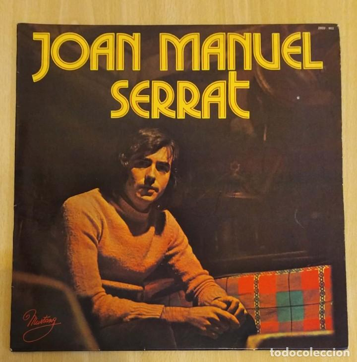 JOAN MANUEL SERRAT (LA PALOMA) LP MUSTANG 1977 FRANCIA (Música - Discos - LP Vinilo - Cantautores Españoles)