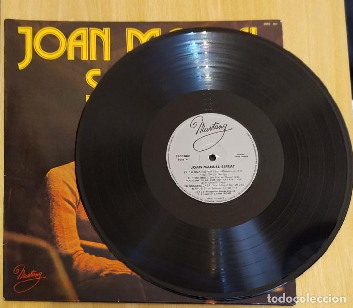 Discos de vinilo: JOAN MANUEL SERRAT (LA PALOMA) LP MUSTANG 1977 FRANCIA - Foto 3 - 288335498