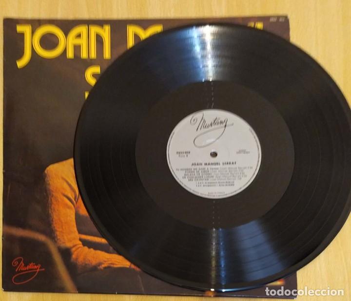 Discos de vinilo: JOAN MANUEL SERRAT (LA PALOMA) LP MUSTANG 1977 FRANCIA - Foto 4 - 288335498