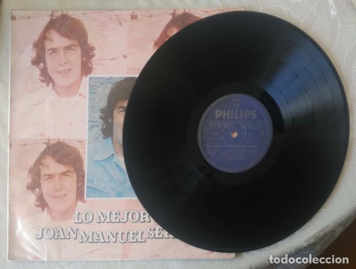 Discos de vinilo: JOAN MANUEL SERRAT (LO MEJOR DE JOAN MANUEL SERRAT) LP 1980 Edición Colombiana - Foto 3 - 288335953