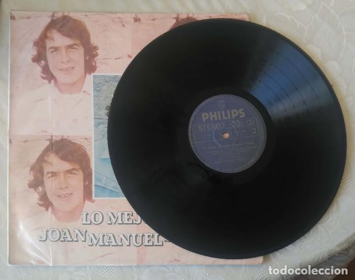 Discos de vinilo: JOAN MANUEL SERRAT (LO MEJOR DE JOAN MANUEL SERRAT) LP 1980 Edición Colombiana - Foto 4 - 288335953