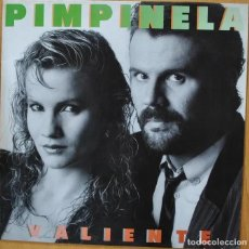 Discos de vinilo: 'VALIENTE', DE PIMPINELA. LP VINILO 10 TEMAS. EPIC. 1987. BUEN ESTADO.. Lote 288341153
