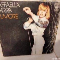 Discos de vinilo: RAFFAELLA CARRA - RUMORE. Lote 288343048