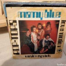 Discos de vinilo: POP TOPS - MAMY BLUE. Lote 288343323