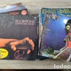 Disques de vinyle: LOTE 49 VINILO LP HEAVY METAL IRON MAIDEN AC DC MANOWAR KROKUS ETC. Lote 288345153