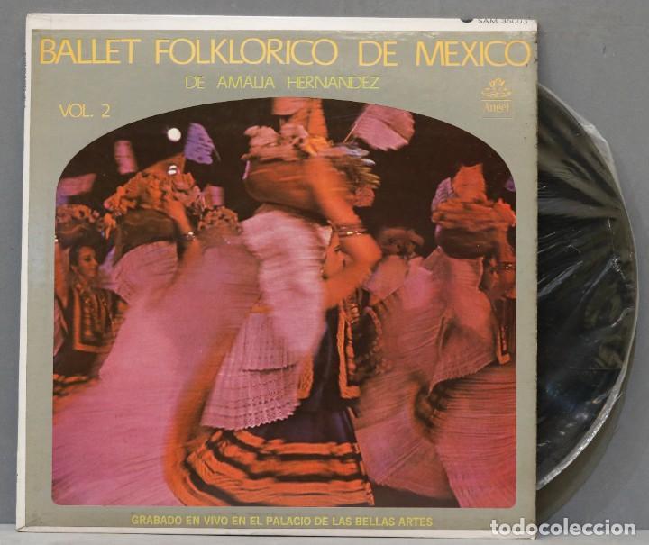 LP. BALLET FOLKLORICO DE MEXICO. VOL. 2 (Música - Discos - LP Vinilo - Grupos y Solistas de latinoamérica)
