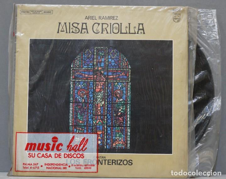 LP. MISA CRIOLLA. ARIEL RAMIREZ. LOS FRONTERIZOS (Música - Discos - LP Vinilo - Grupos y Solistas de latinoamérica)