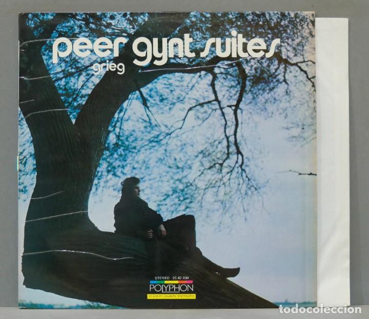 LP. PEER GYNT SUITES (Música - Discos - LP Vinilo - Clásica, Ópera, Zarzuela y Marchas)