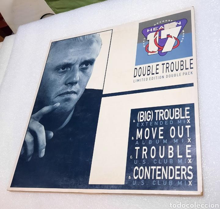 HEAVEN 17 - DOUBLE TROUBLE. DOBLE MAXI (Música - Discos de Vinilo - Maxi Singles - Disco y Dance)