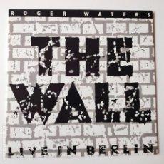 Discos de vinilo: ROGER WATERS- THE WALL- LIVE IN BERLIN- HOLLAND 2 LP 1990- PINK FLOYD- EXC. ESTADO.. Lote 288351163