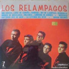 Discos de vinilo: LOS RELÁMPAGOS LP SELLO NOVOLA-ZAFIRO EDITADO EN ESPAÑA AÑO 1965.... Lote 288352053