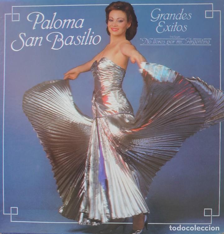 PALOMA SAN BASILIO LP SELLO CBS EDITADO EN USA AÑO 1983 (Música - Discos - LP Vinilo - Solistas Españoles de los 70 a la actualidad)