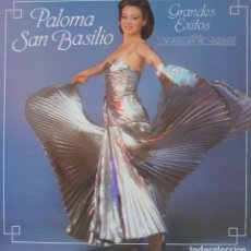 Discos de vinilo: PALOMA SAN BASILIO LP SELLO CBS EDITADO EN USA AÑO 1983. Lote 288352368