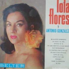 Discos de vinilo: LOLA FLORES LP SELLO BELTER EDITADO EN ESPAÑA AÑO 1966. Lote 288353093