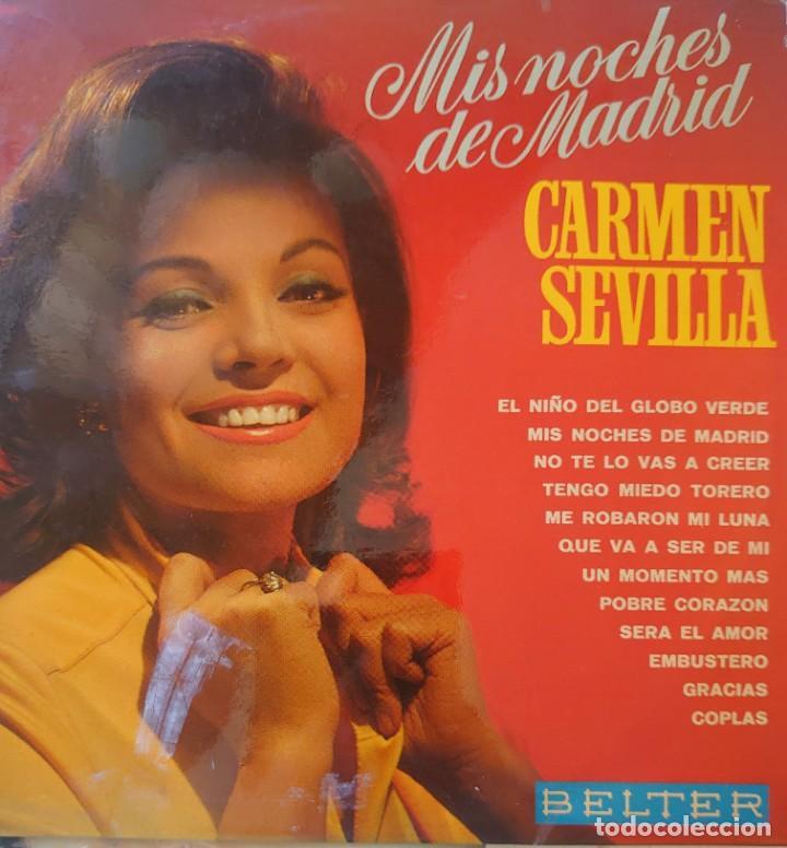CARMEN SEVILLA LP SELLO BELTER EDITADO EN ESPAÑA AÑO 1969 (Música - Discos - LP Vinilo - Flamenco, Canción española y Cuplé)