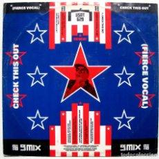 Discos de vinilo: L.A. MIX - CHECK THIS OUT - MAXI BREAKOUT 1988 UK BPY. Lote 288355893