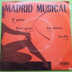 Discos de vinilo: 16 SINGLES Y EPS - MÚSICA AÑOS 50, 60 Y 70 - BUEN ESTADO - VINILOS - ENVÍO 6 EUROS - VER FOTOS. Lote 288357493