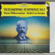 Discos de vinilo: LP. TSCHAIKOWSKY. WIENER PHILHARMONIKER. HERBERT VON KARAJAN. SYMPHONIE NO.5. Lote 288357743