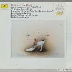 Discos de vinilo: LP. BERLINER PHILHARMONIKER. HERBERT VON KARAJAN. DANCE OF THE HOURS. Lote 288357958
