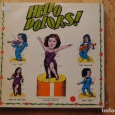 Discos de vinilo: DOLORS LAFFITTE. HELLO DOLORS !.. EDIGSA PEBROTS 1975. LP. Lote 288358108