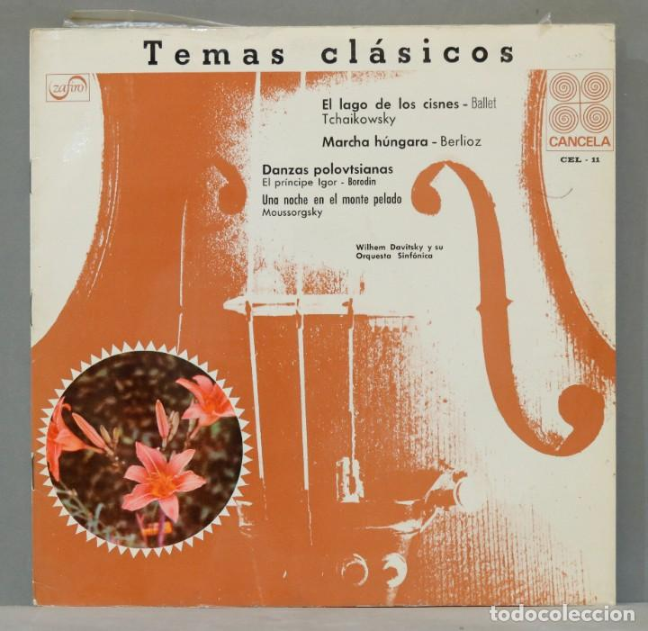 LP. EL LAGO DE LOS CISNES. TCHAIKOVSKY. MARCHA HUNGARA. BERLIOZ. MUSSORGSKY. BORODIN (Música - Discos - LP Vinilo - Clásica, Ópera, Zarzuela y Marchas)