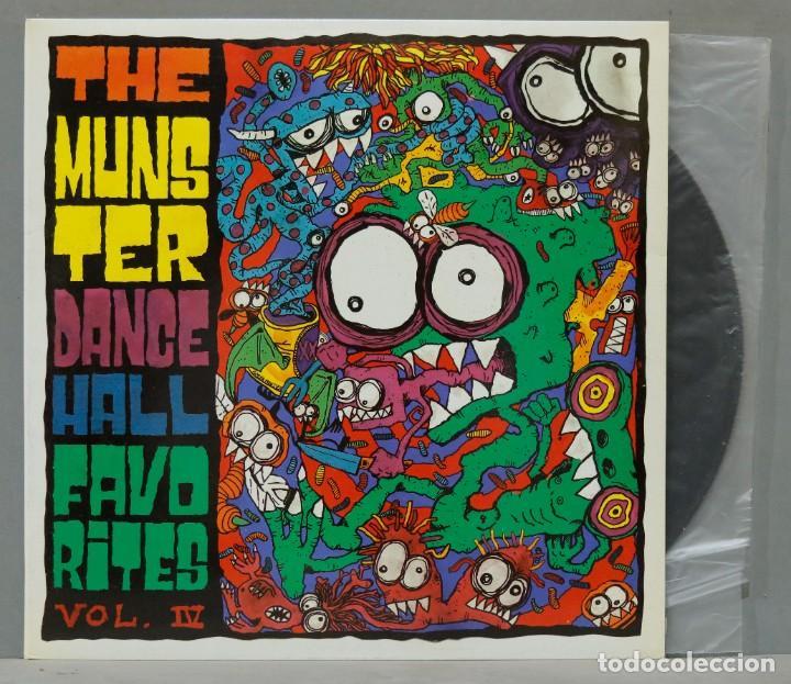 LP. THE MUNSTER. DANCE HALL FAVORITES. VOL IV (Música - Discos - LP Vinilo - Grupos Españoles de los 90 a la actualidad)