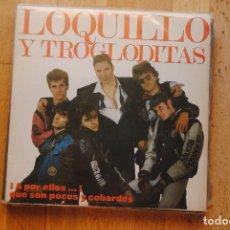 Discos de vinilo: LOQUILLO Y TROGLODITAS. A POR ELLOS QUE SON POCOS Y COBARDES. DOBLE LP 2. HISPAVOX 1989. Lote 288359298