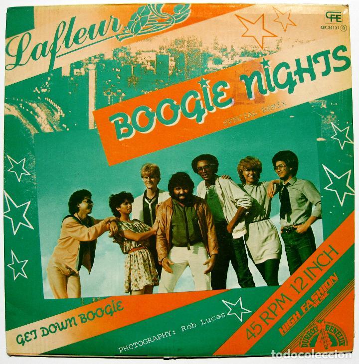 LAFLEUR - BOOGIE NIGHTS (SPECIAL REMIX) - MAXI CFE 1983 BPY (Música - Discos de Vinilo - Maxi Singles - Disco y Dance)