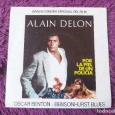"""Discos de vinilo: OSCAR BENTON – BENSONHURST BLUES, VINYL 7"""" SINGLE 1982 SPAIN 10C 006-024.693. Lote 288361413"""