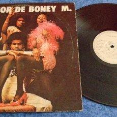 Discos de vinilo: BONEY M SPAIN LP 1977 LO MEJOR DE BONEY M ELECTRONIC POP DISCO FUNK SOUL RECOPILACION GRANDES EXITOS. Lote 288220883