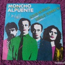 """Discos de vinilo: MONCHO ALPUENTE Y LOS KWAI – ADIÓS MUÑECA, VINYL 7"""" SINGLE 1980 SPAIN 02.2126/9 PROMO. Lote 288365698"""