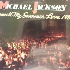 Discos de vinilo: MICHAEL JACKSON FAREWELL MY SUMMER LOVE 1984 PRECINTADO. Lote 288368298