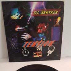 Discos de vinilo: DJ. SKRYKER - TENSION. Lote 288368948