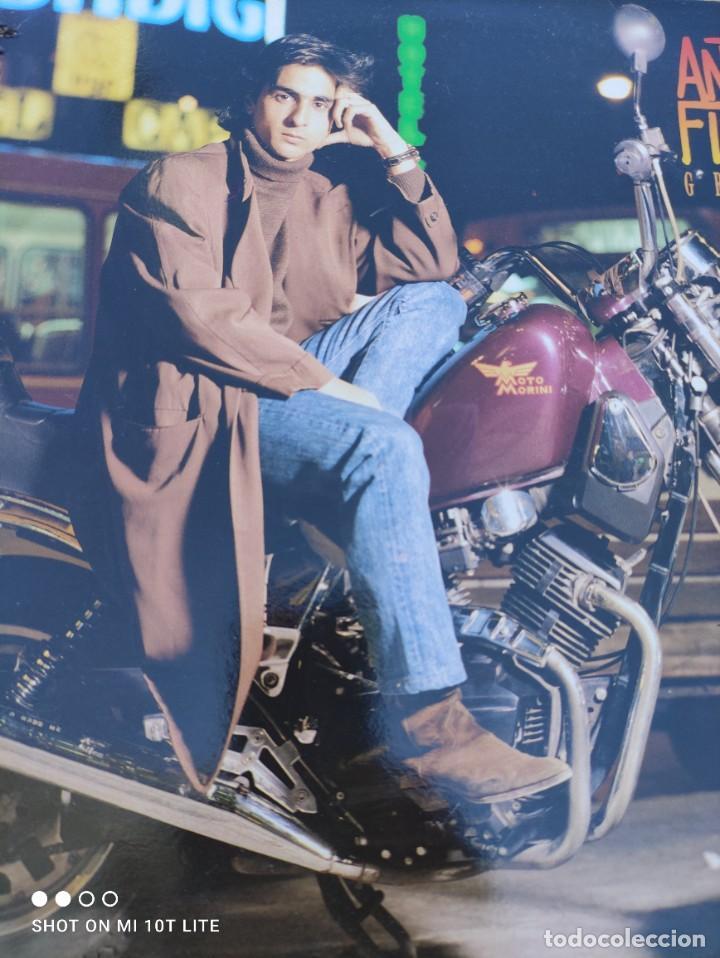 Discos de vinilo: LP. ORIGINAL ANTONIO FLORES - GRAN VÍA - SELLO TWINS T 3076 SP. AÑO 1988. COMPLETO CON LETRAS - Foto 3 - 288371798