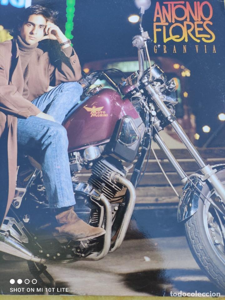 Discos de vinilo: LP. ORIGINAL ANTONIO FLORES - GRAN VÍA - SELLO TWINS T 3076 SP. AÑO 1988. COMPLETO CON LETRAS - Foto 4 - 288371798