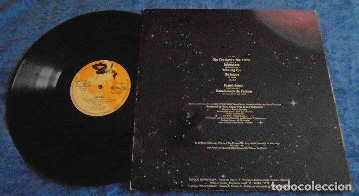 Discos de vinilo: DROIDS SPAIN LP 1978 STAR PEACE LA FUERZA ELECTRONIC SYNTH POP ELECTRO DISCO MUSICA ESPACIAL BARCLAY - Foto 2 - 288376663