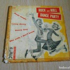Discos de vinilo: ROCKERS DE ARIZONA, LOS - ROCK AND ROLL DANCE PARTY -, EP, SHE SAID, I DON´T KNOW + 3, AÑO 1961. Lote 288378318