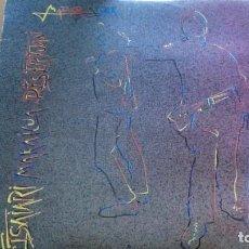 Discos de vinilo: MADARIKATUAK ETSAIARI MAKAILUA DESERTUAN LP CON INSERTO 1987. Lote 288378558
