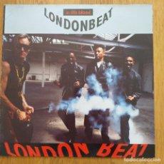 Discos de vinilo: LONDONBEAT - IN THE BLOOD (LP) 1990. Lote 288380288