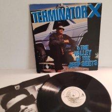 Discos de vinilo: TERMINATOR X & THE VALLLEY OF THE JEEP BEETS. Lote 288382153